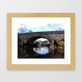 Scottish Highlands: Passageway  Framed Art Print