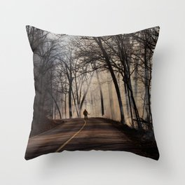 On Assignment: Controled Burn Color Throw Pillow