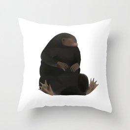 The Niffler Throw Pillow