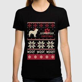 Leonberger christmas gift t-shirt for dog lovers T-shirt