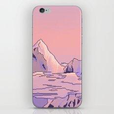 Peach Sunset iPhone & iPod Skin