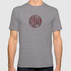 Point of Invasion Mens Fitted Tee Athletic Grey SMALL