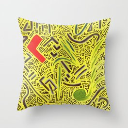 RAYCLEST 6 Throw Pillow