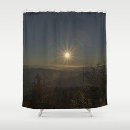 Sunset in the Smokeys Shower Curtain