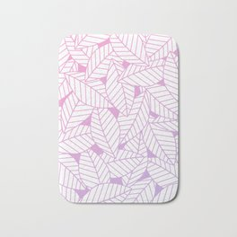 Leaves in Unicorn Bath Mat