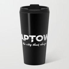 Naptown | the city that sleeps | Indianapolis Metal Travel Mug