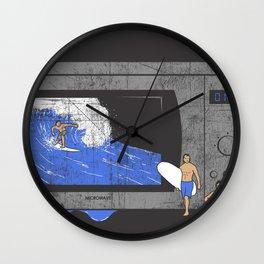 Microwave Wall Clock