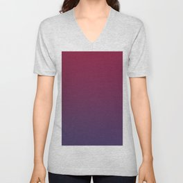 DESTINATION - Minimal Plain Soft Mood Color Blend Prints Unisex V-Neck