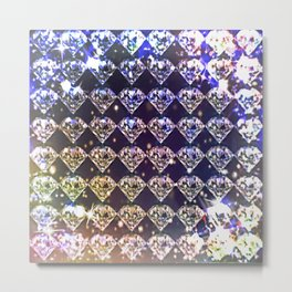 Diamonds, diamonds... Metal Print