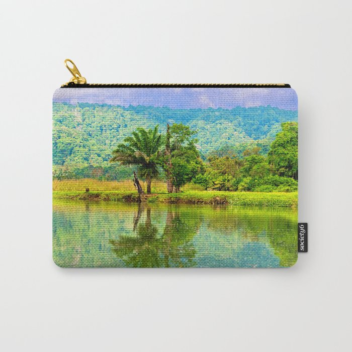RIVER MIRROR Carry-All Pouch