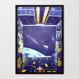 Wipeoutwars Canvas Print