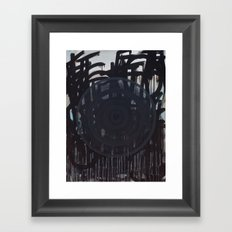lead us not into temptation but deliver us from evil | Feedback Painting Framed Art Print