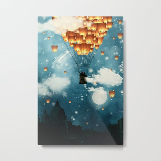 Where all the wishes come true Metal Print