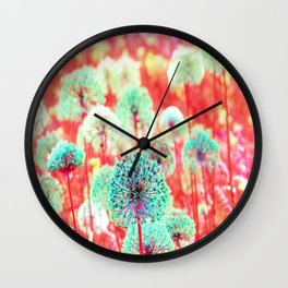 Flowers of Fantasy Wall Clock