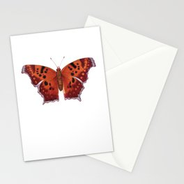 Question Mark (Polygonia interrogationis) Stationery Cards