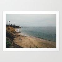 Diver's Cove. Art Print