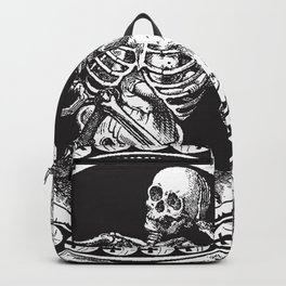 1861 Death Skeleton Black Backpack