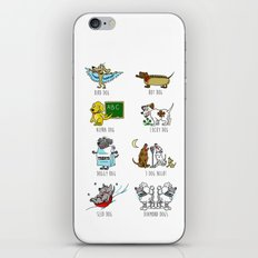 Know Your Dogs iPhone & iPod Skin