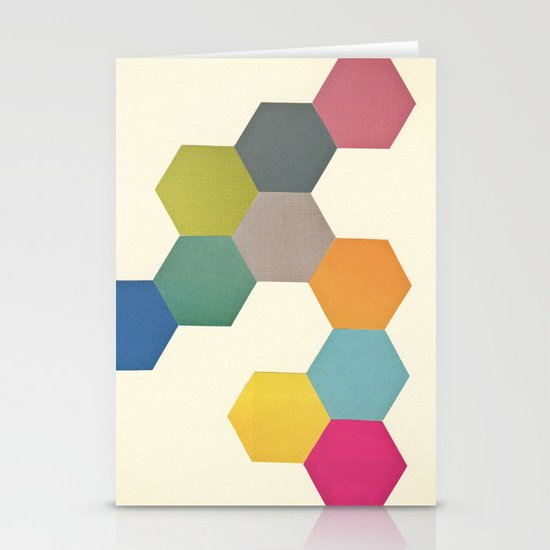 Honeycomb I Stationery Cards