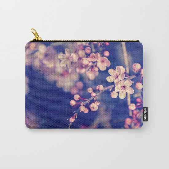 Gentle Rose Cherry Blossom Carry-All Pouch