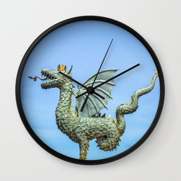 Dragon Zilant Wall Clock