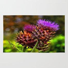 The Colour Purple Rug