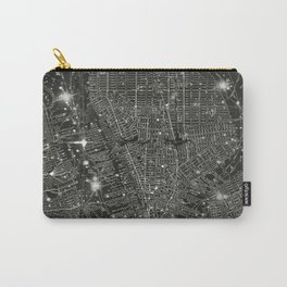 Vintage New Your City Map Carry-All Pouch