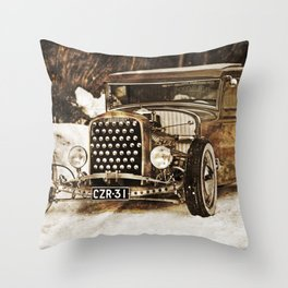The Pixeleye - Special Edition Hot Rod Series IV Throw Pillow