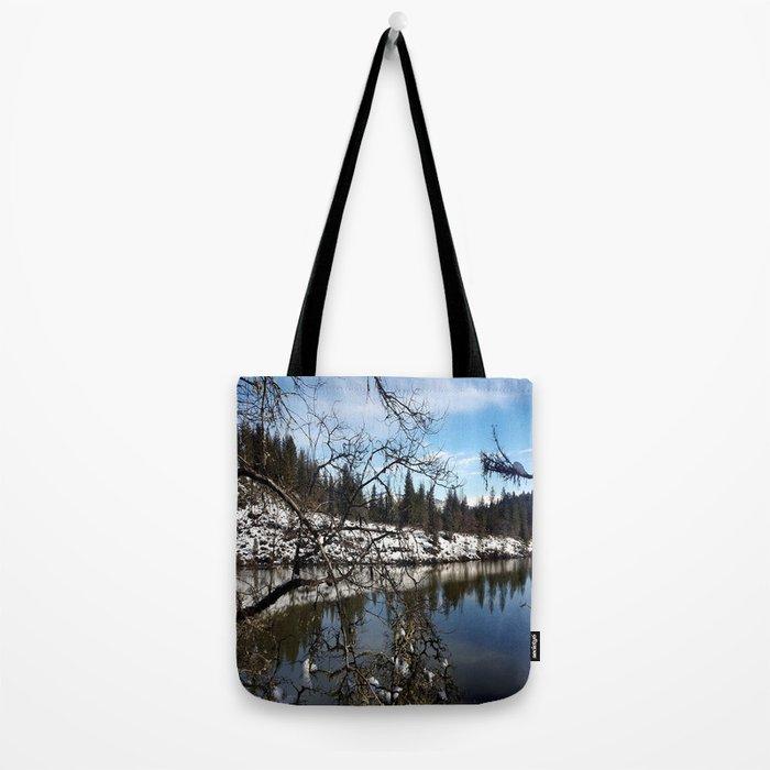 Lake Britton Tote Bag