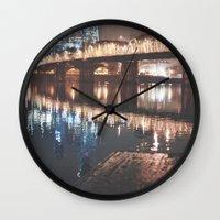 portland Wall Clocks featuring Portland by Tasha Marie