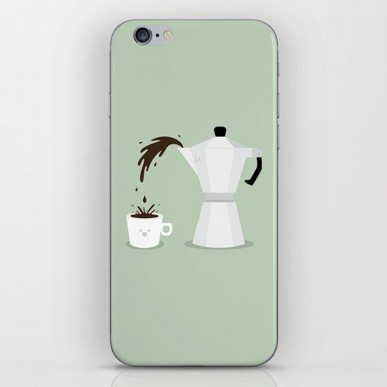 Espresso Time! iPhone & iPod Skin