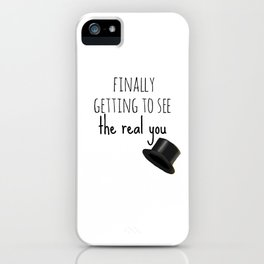 Brave and Handsome iPhone Case