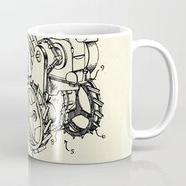 Rotary Soil Tiller-1949 Coffee Mug