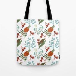 Australian Botanicals - White Tote Bag