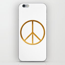 P E A C E - Symbol iPhone Skin