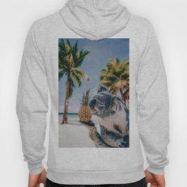 Koala in the beach Hoody
