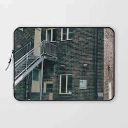 Brick Building Toilets Laptop Sleeve
