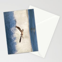 marina pelican Stationery Cards