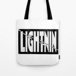 Lightnin Tote Bag