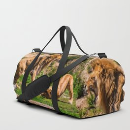 Lion's Roar Duffle Bag