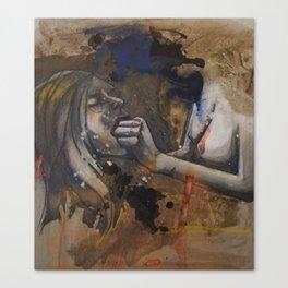Spit/Swallow Canvas Print