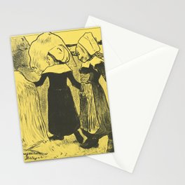 Paul Gauguin - Pleasures of Brittany (Joies de Bretagne) (1889) Stationery Cards