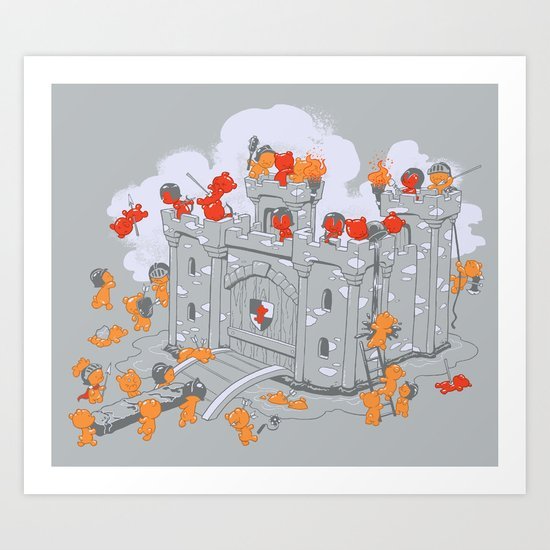 The Siege Art Print