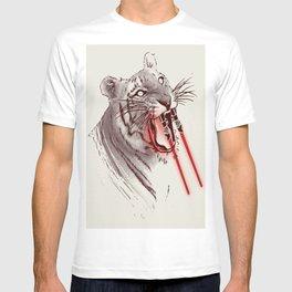 Light Saber Tooth Tiger T-shirt