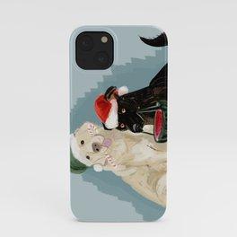 Doggy Holidays iPhone Case