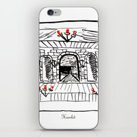 hamlet iPhone & iPod Skins featuring Hamlet by Foxfocus