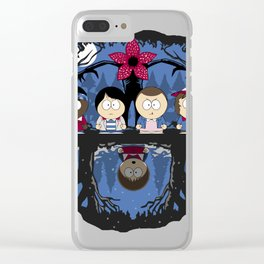 stranger park Clear iPhone Case