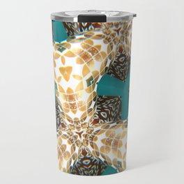 Isometric Intarsia Travel Mug