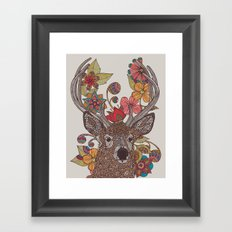 Hello my Deer Framed Art Print