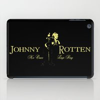 whisky iPad Cases featuring Rotten Whisky by PsychoBudgie